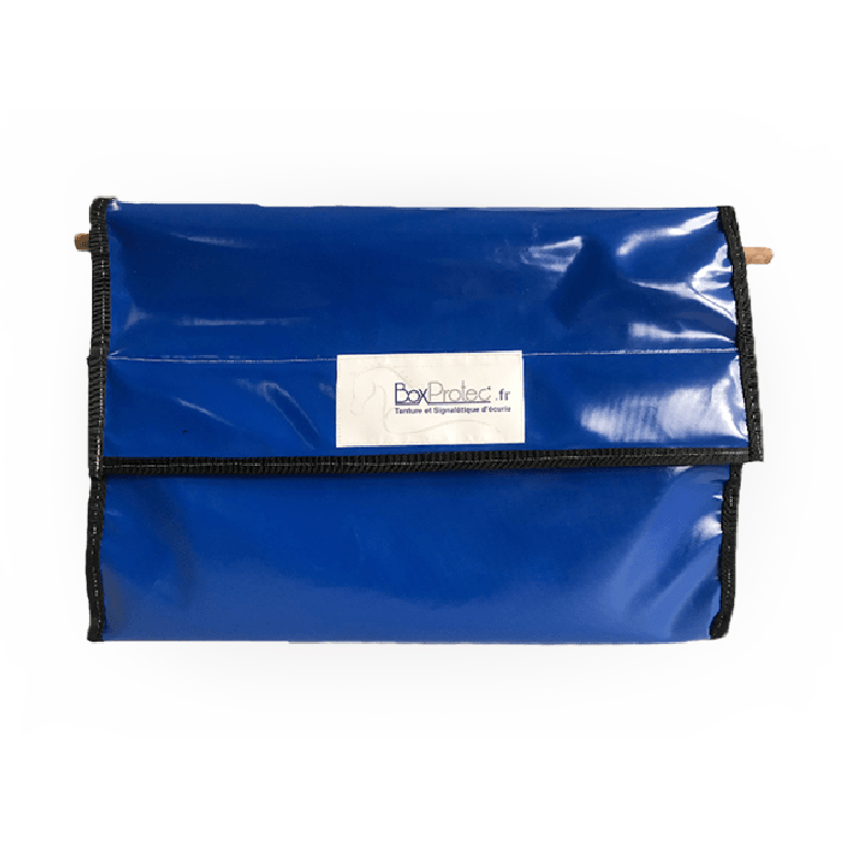 sac à bandes d'équitation bleu