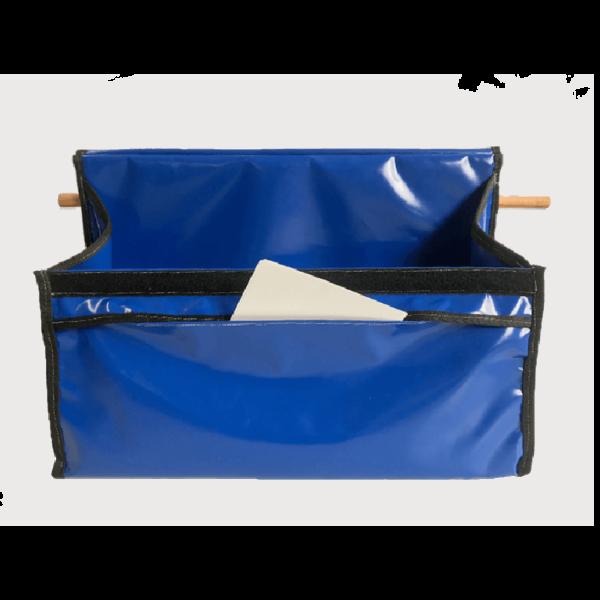 sac à bandes d'équitation bleu boxprotec