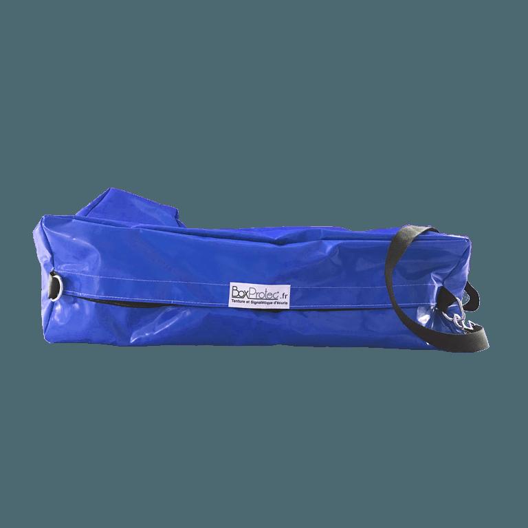 sac à bottes bleu semi-étanche