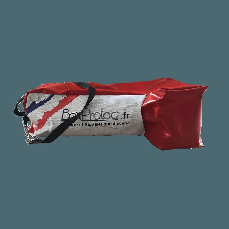 sac à bottes rouge semi-étanche