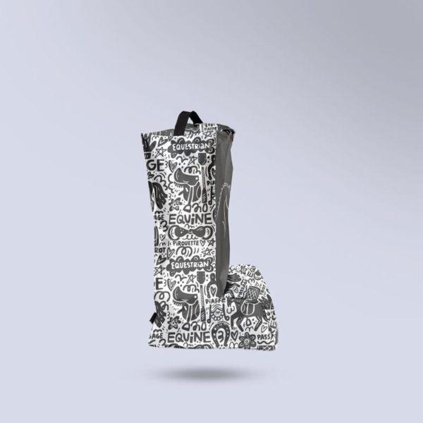 sac à bottes taille enfant