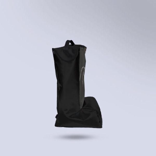 sac noir pour bottes