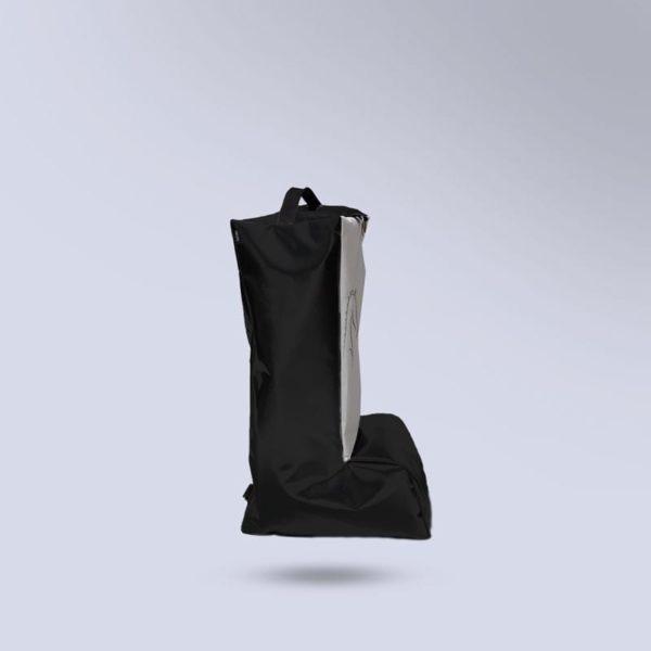 sac micro-aéré noir pour bottes