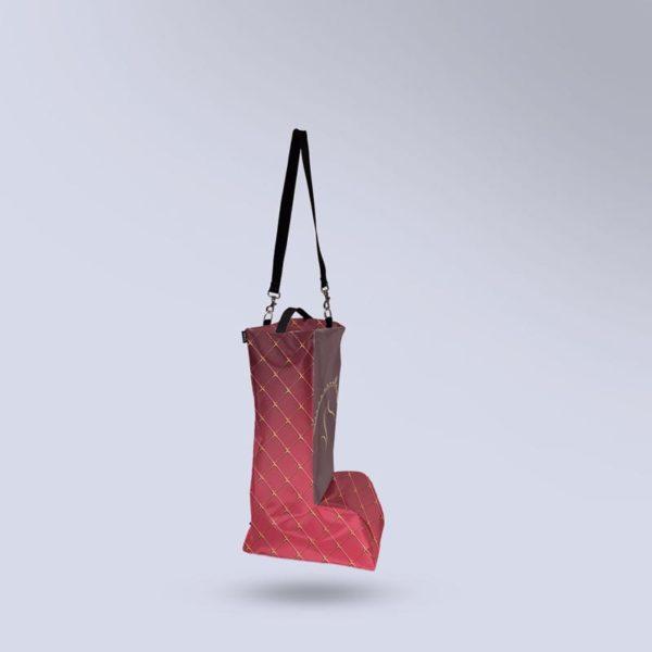 sac à bottes équitation aéré