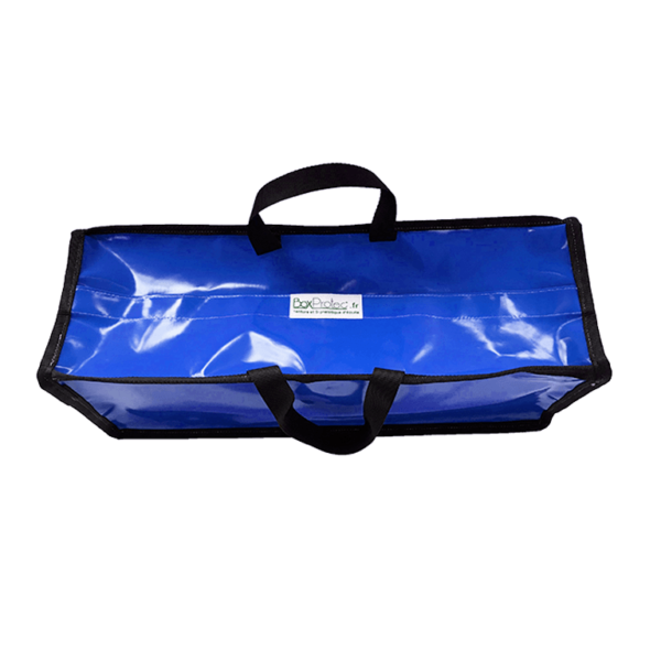 Petit sac de rangement semi-étanche bleu