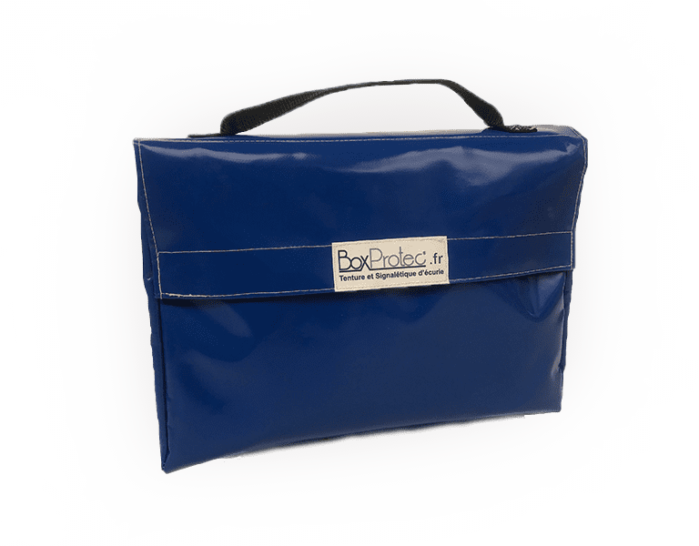 sac cartable bleu boxprotec