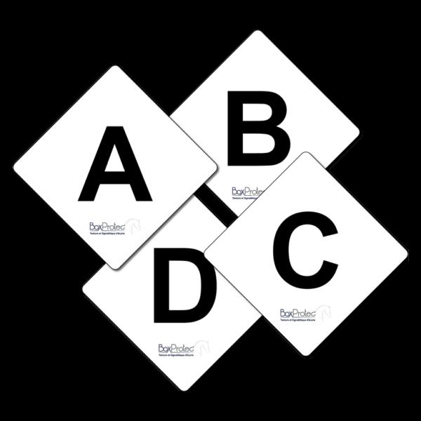 lot de lettres de cross boxprotec