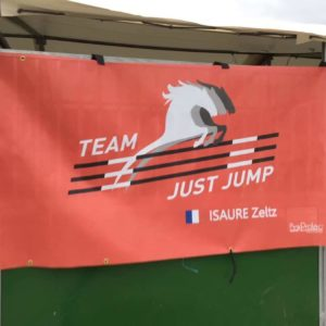 tenture de box team just jump boxprotec