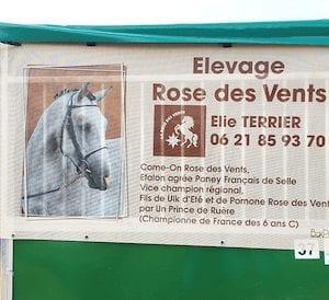 tenture personnaliser elevage rose des vents boxprotec