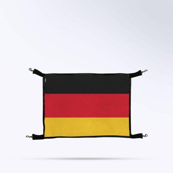 porte de box drapeau allemagne Boxprotec