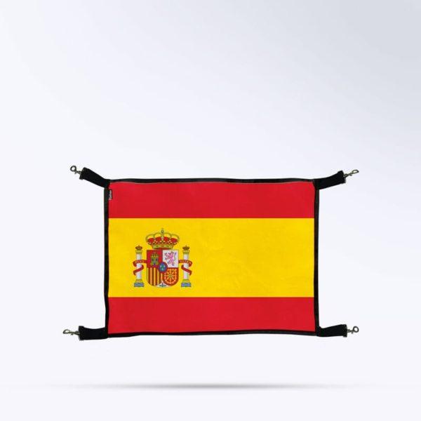 porte de box drapeau Espagne Boxprotec pour écurie