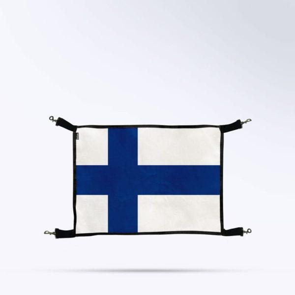 Porte de box drapeau Finlande Boxprotec
