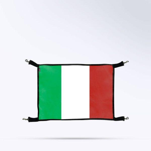 porte de box Boxprotec drapeau de l'italie pour cheval