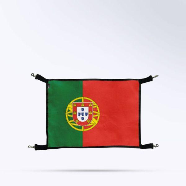 porte de box drapeau du portugal pour cheval