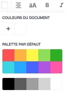 Choisir la couleur de votre texte personnalisation de produit boxprotec
