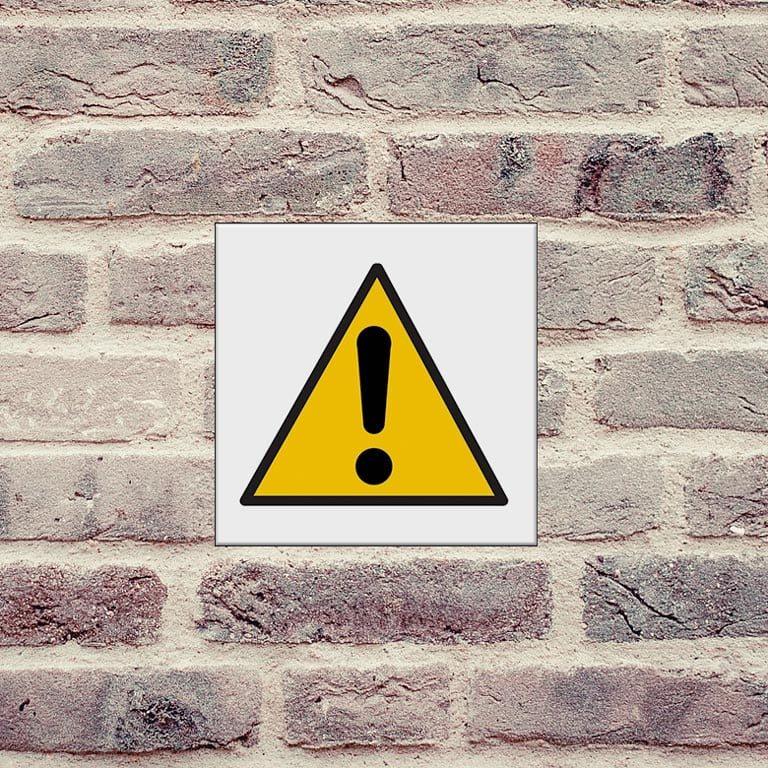 panneau attention danger général