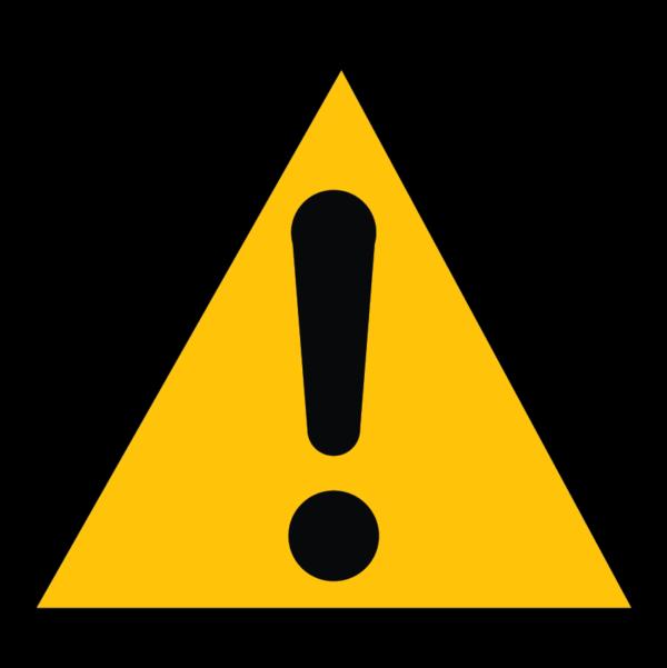 panneau danger général format triangle