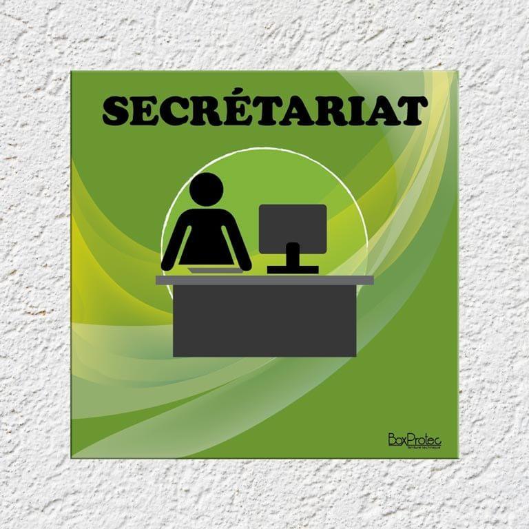 panneau secrétariat