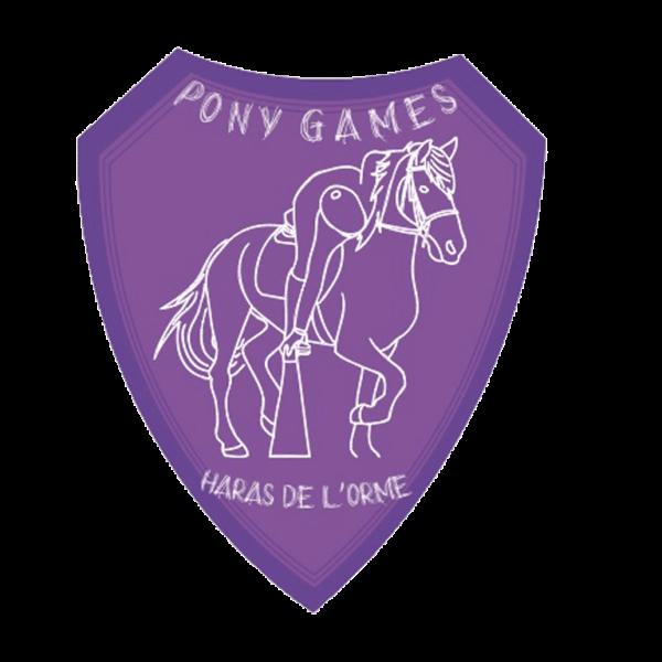 plaque de trophée pony games