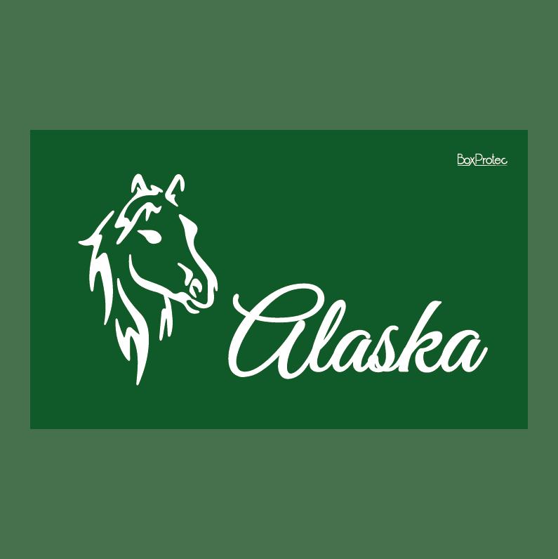 Plaque de maison cheval  personnalisée avec votre texte et numéro