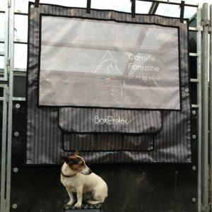 tenture PRO1 boxprotec camille fontaine