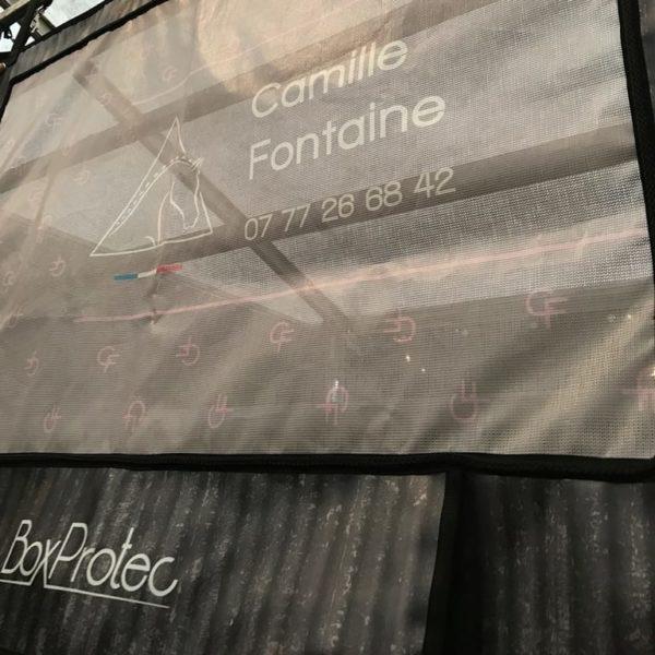 tenture de box PRO1 camille fontaine