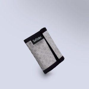 Porte monnaie carré gris