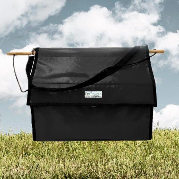 sac a bandes et flanelles noir boxprotec