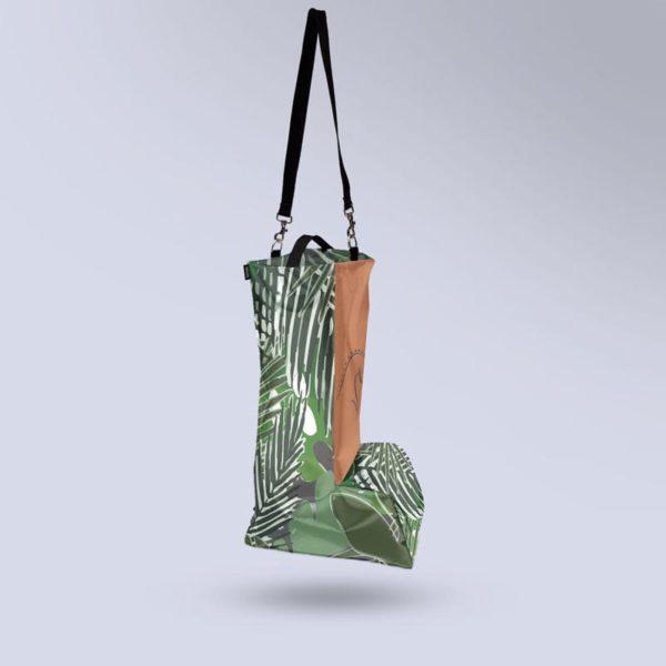 sac à botte Boxprotec motif tropical micro aéré