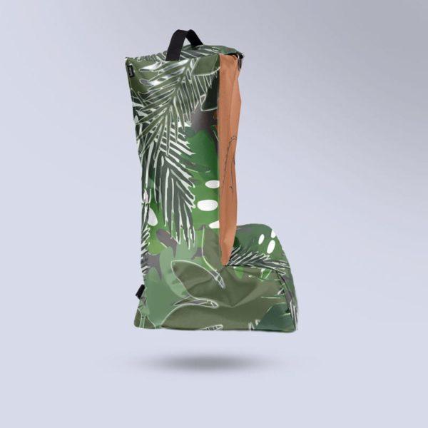 sac à bottes motif tropical Boxprotec semi-étanche