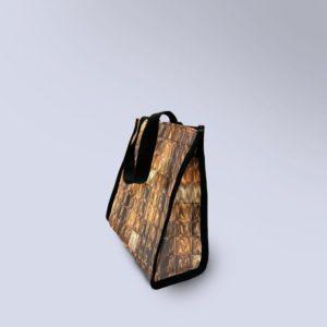 sac à main semi-étanche boxprotec motif or