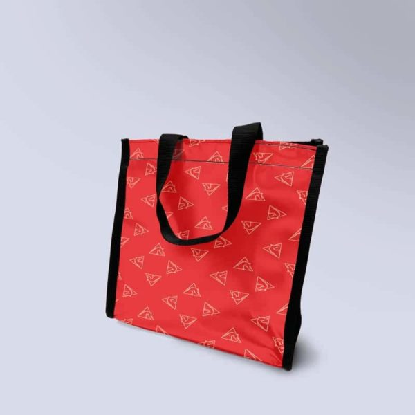 sac rouge avec motif Boxprotec