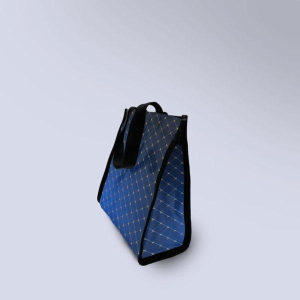sac à main bleu molletonnée boxprotec