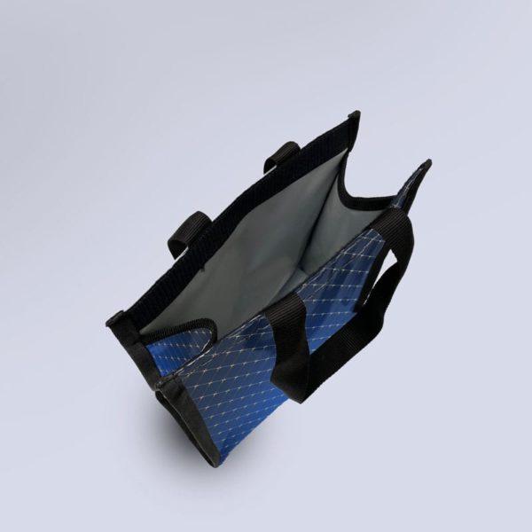 sac à glacière semi-étanche bleu saphir