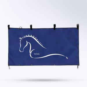 tenture de box bleu marine Boxprotec fabrication française
