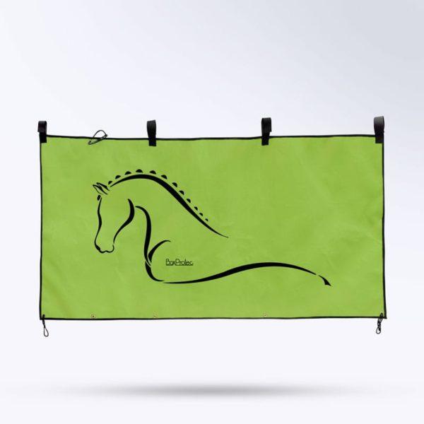 tenture de box verte Boxprotec