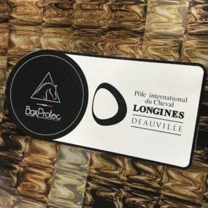 sac avec étiquette de personnalisation à votre logo