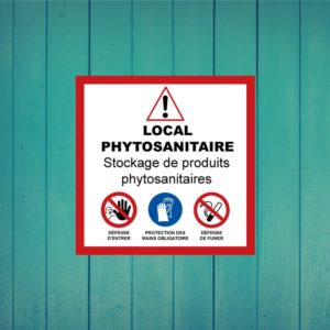 Panneau local phytosanitaire