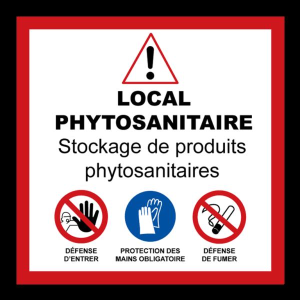 Panneau local phytosanitaire