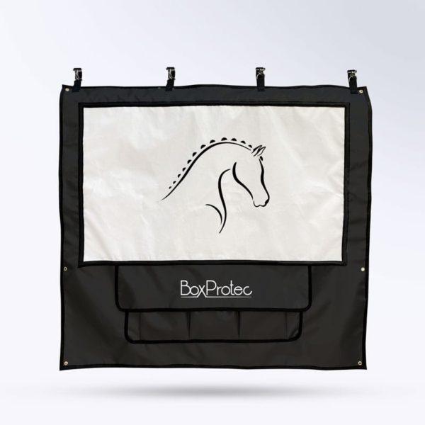tenture de box PRO 1 Boxprotec noir et blanc
