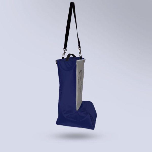 sac à bottes respirant bleu Boxprotec