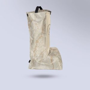 sac à botte Boxprotec micro-aéré coloris effet marbre blanc