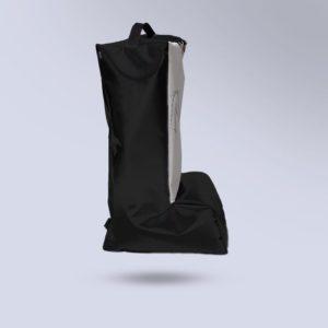 sac à bottes Boxprotec semi étanche noir et toile micro aéré blanc