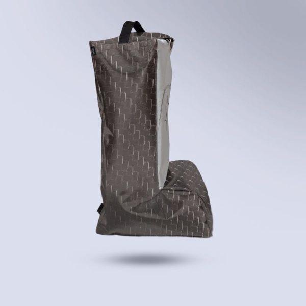 sac à botte micro-aéré noir carbone