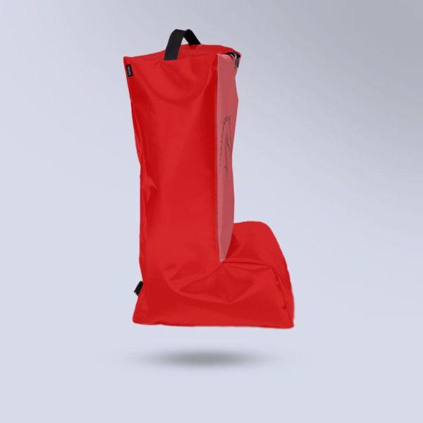 sac à bottes respirant rouge Boxprotec
