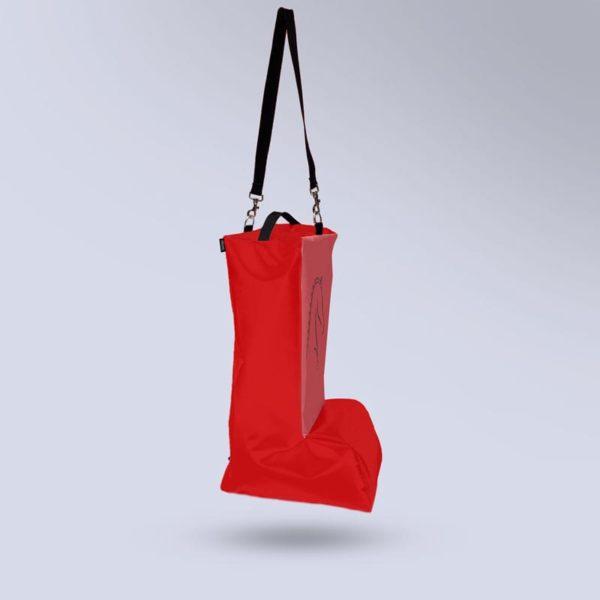 sac pour bottes respiratn rouge Boxprotec