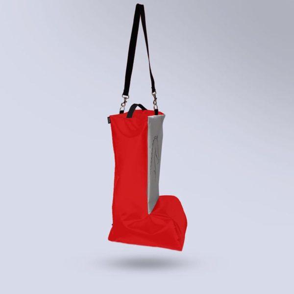 sac à bottes rouge Boxprotec