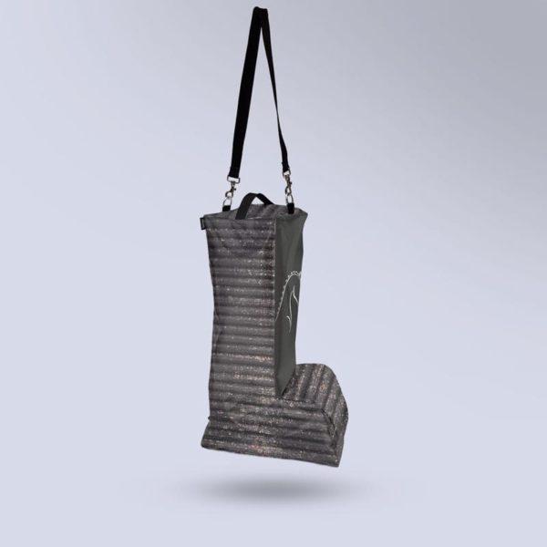 sac à bottes respirant collection zébré noir Boxprotec