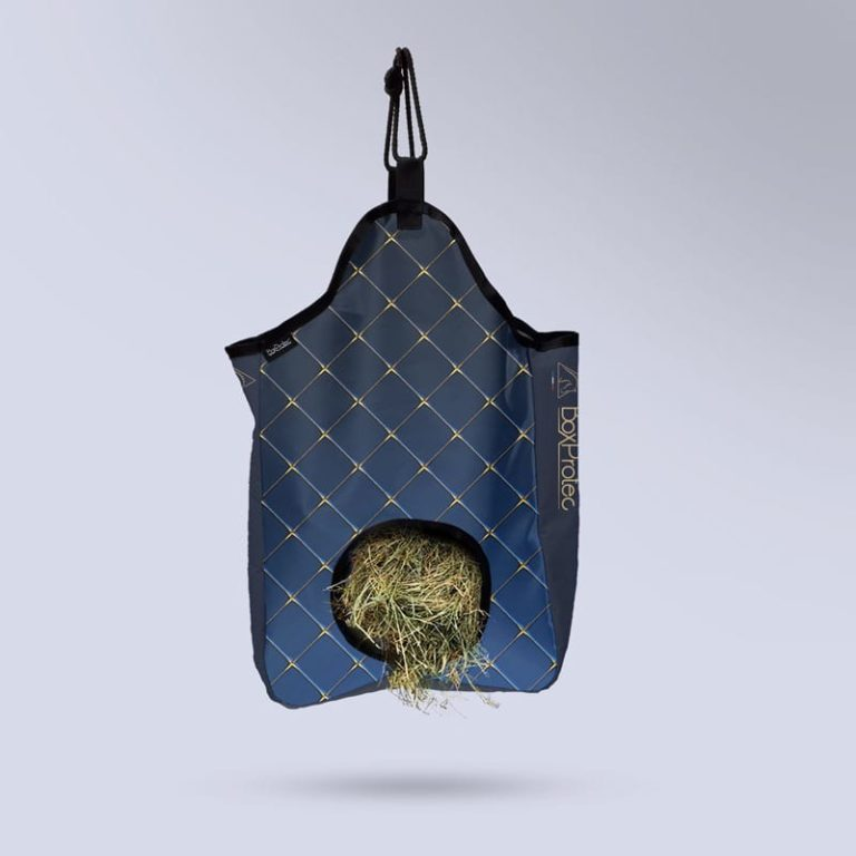 sac à foin bleu molletonnée collection saphir boxprotec