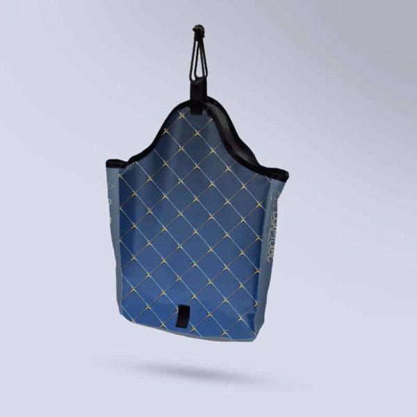 sac à foin à suspendre collection saphir bleu molletonnée